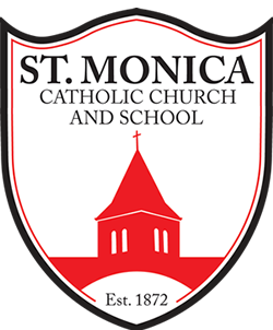St. Monica Catholic Church Logo